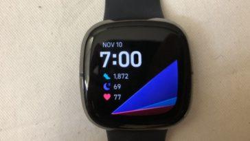fitbit sense main screen