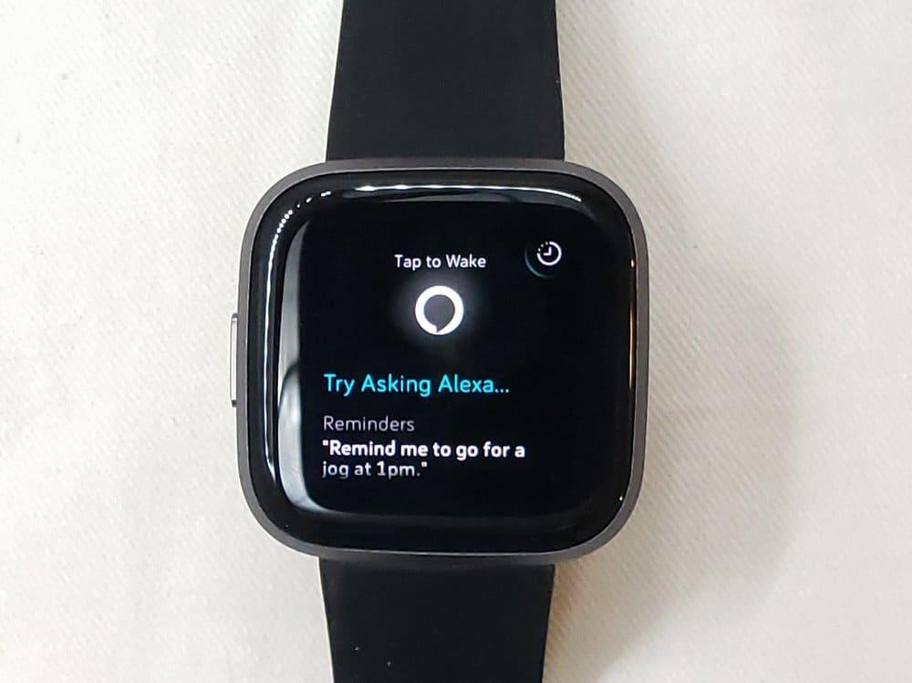 Fitbit Versa 2 Alexa speech to text