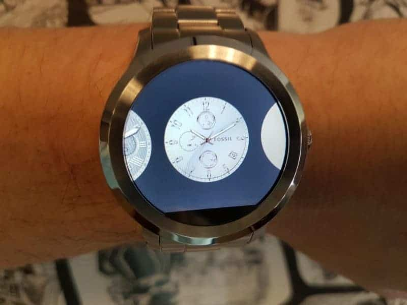 Fossil Q Founder 2 smartwatch face options
