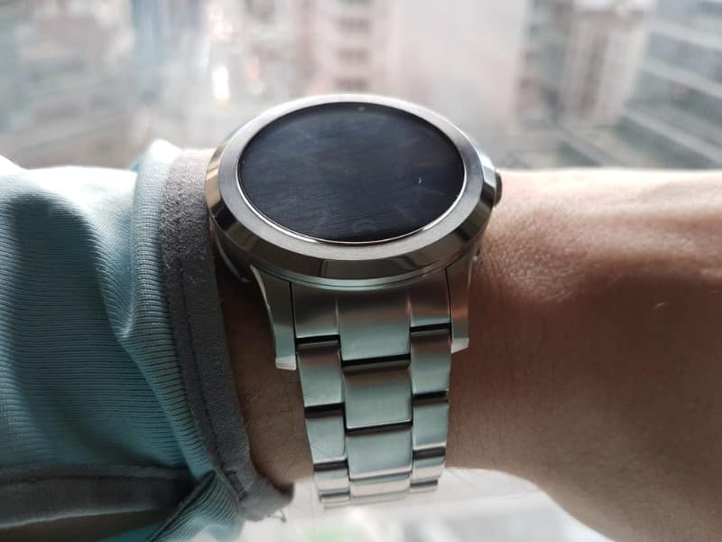Fossil Q Founder 2 smartwatch close up photo