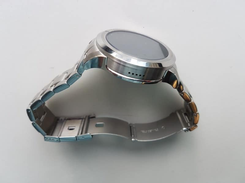 Side view of the Fossil Q Founder Smartwatch