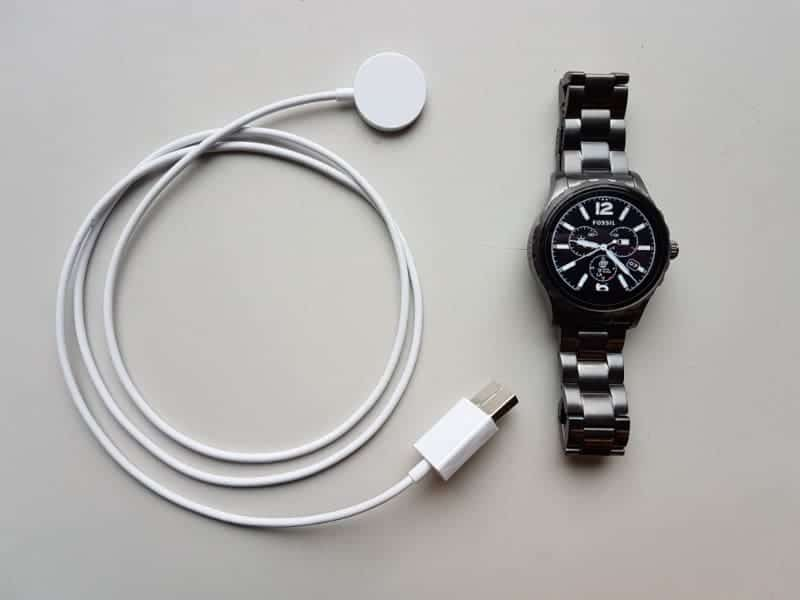 Fossil Q Marshal Smartwatch set.