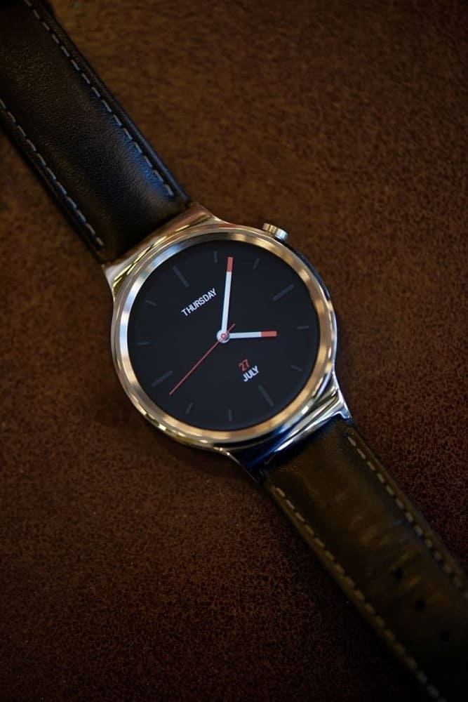 Photo of the Huawei smartwatch