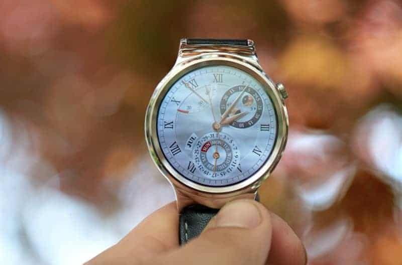 Gorgeous Huawei smartwatch screen