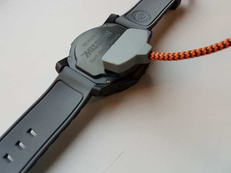 Nixon the Mission Smartwatch charger.