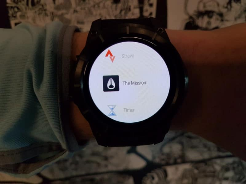 Nixon the Mission Smartwatch The Mission App.