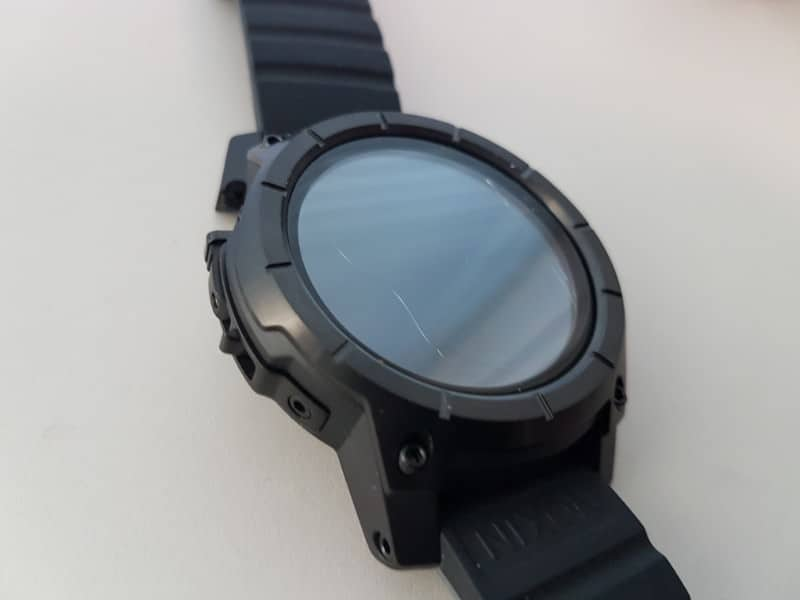 Nixon the Mission Smartwatch snapped case.