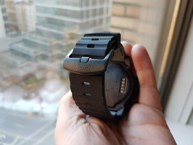 Nixon the Mission Smartwatch strap.