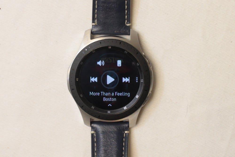 Samsung Galaxy Watch music