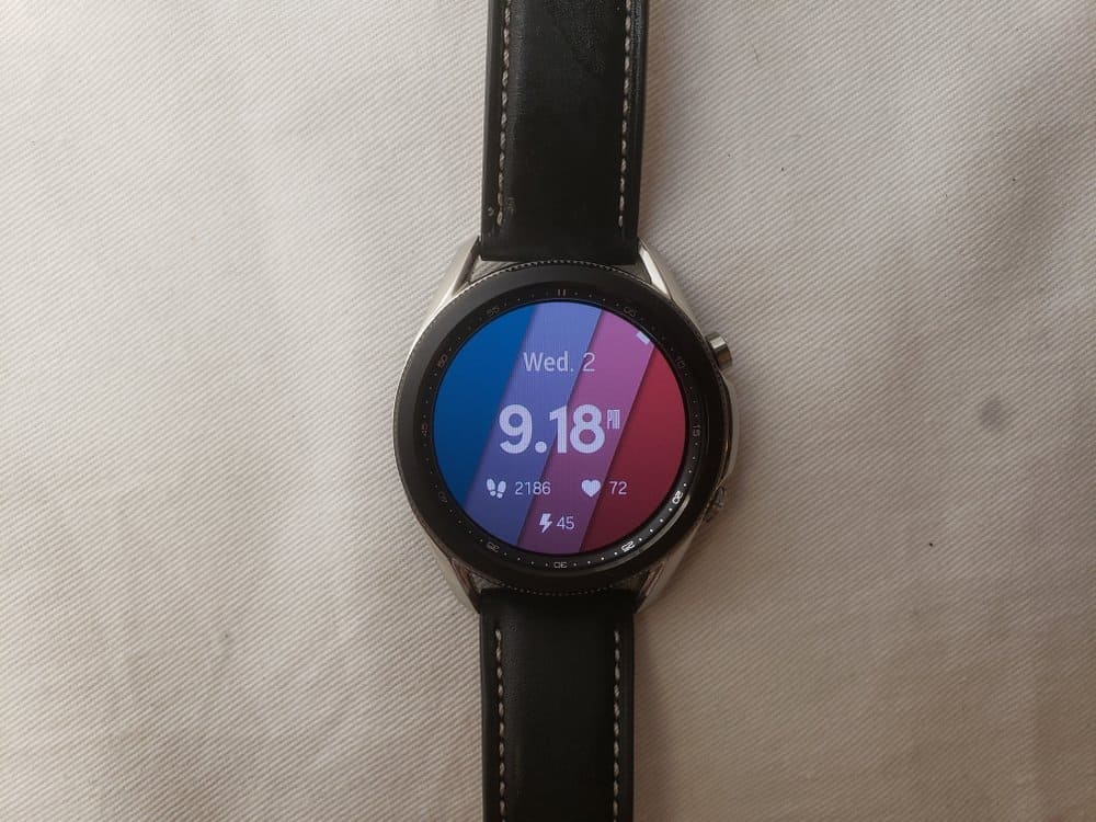 Samsung Galaxy Watch3 watch faces