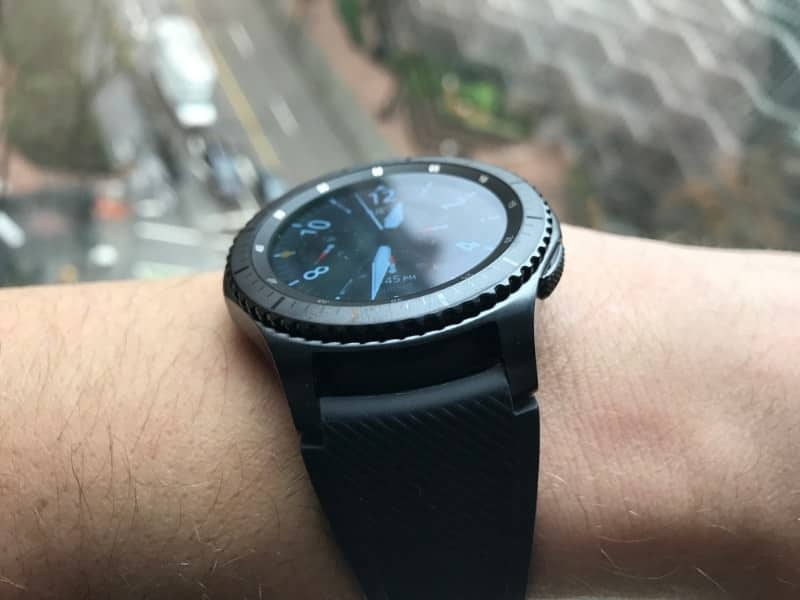 Side shot of the Samsung Gear S3 Frontier Smartwatch