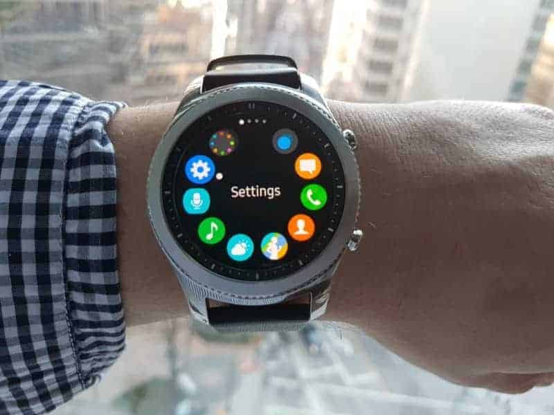 Samsung Gear S3 Apps.