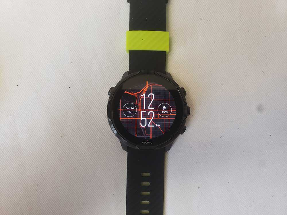 Suunto 7 main screen