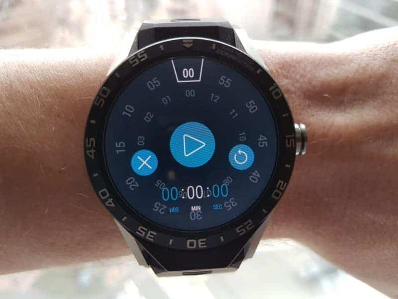 Tag Heuer Connected Smartwatch Microapplications.