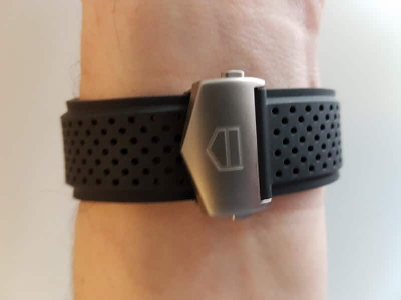 Tag Heuer Connected Smartwatch strap.