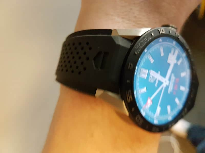 Tag Heuer Connected Smartwatch watch case.