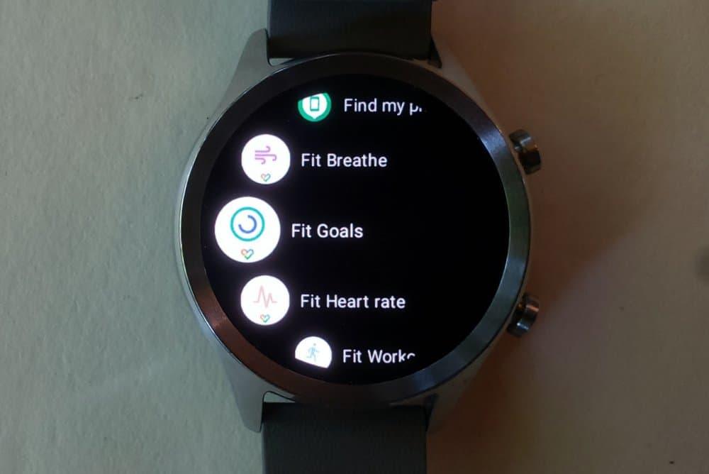 ticwatch c2 google fit