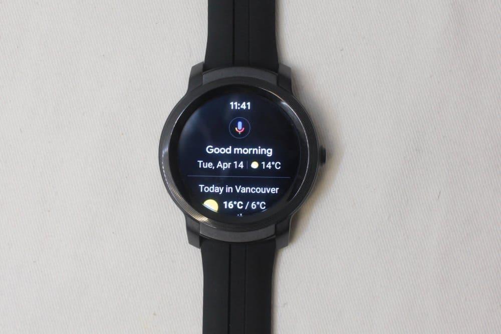 ticwatch e2 google assistant