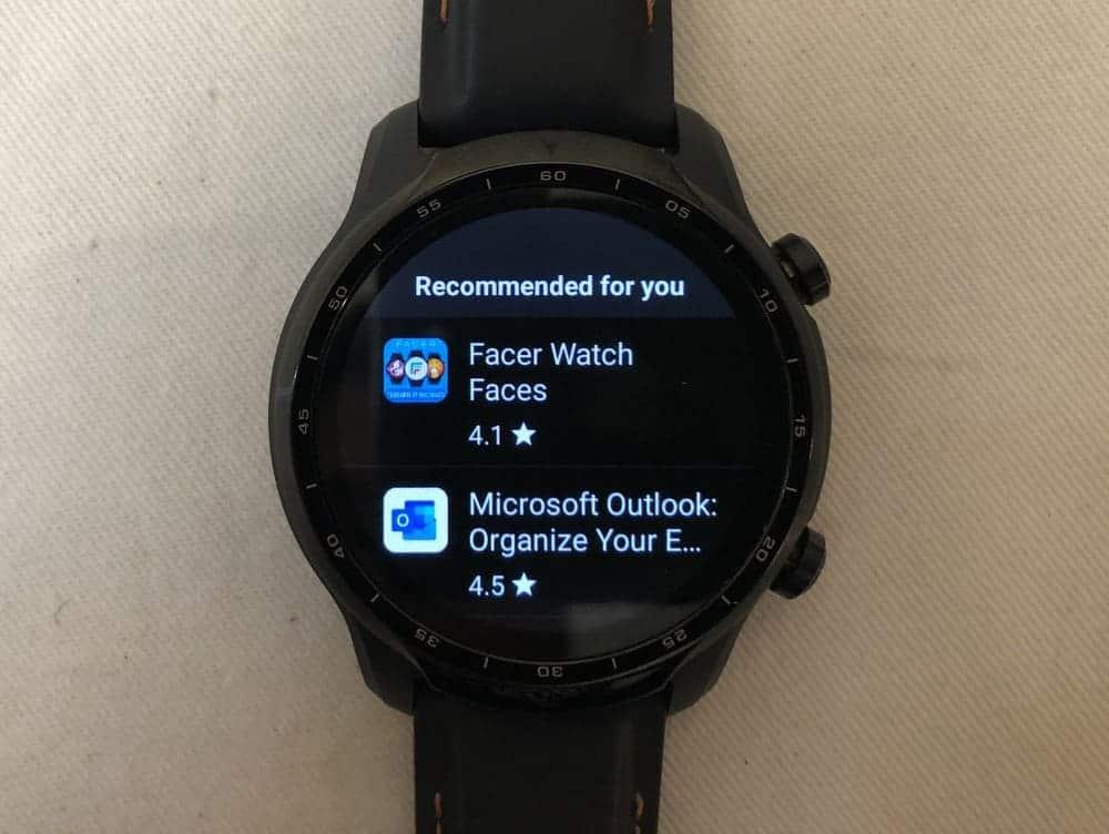 ticwatch pro 3 app store