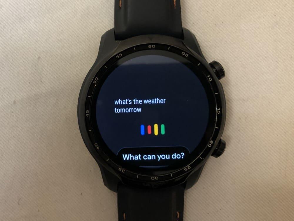 ticwatch pro 3 google assistant