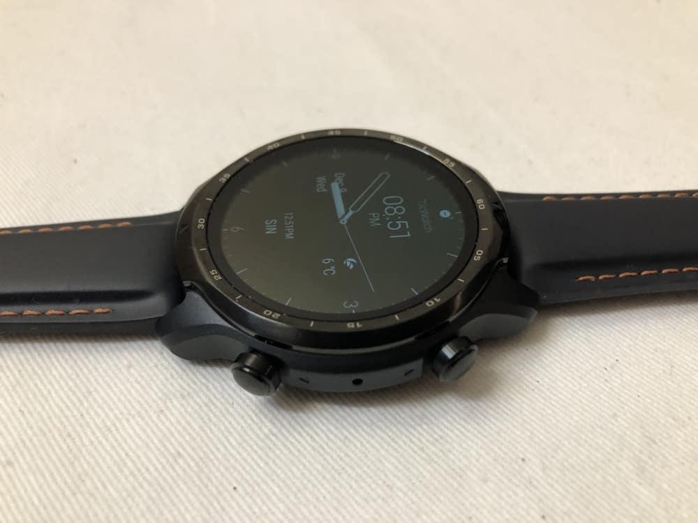 ticwatch pro 3 side
