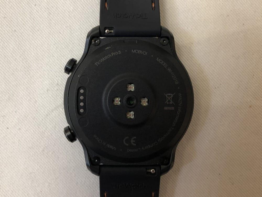 Ticwatch Pro 3 rear