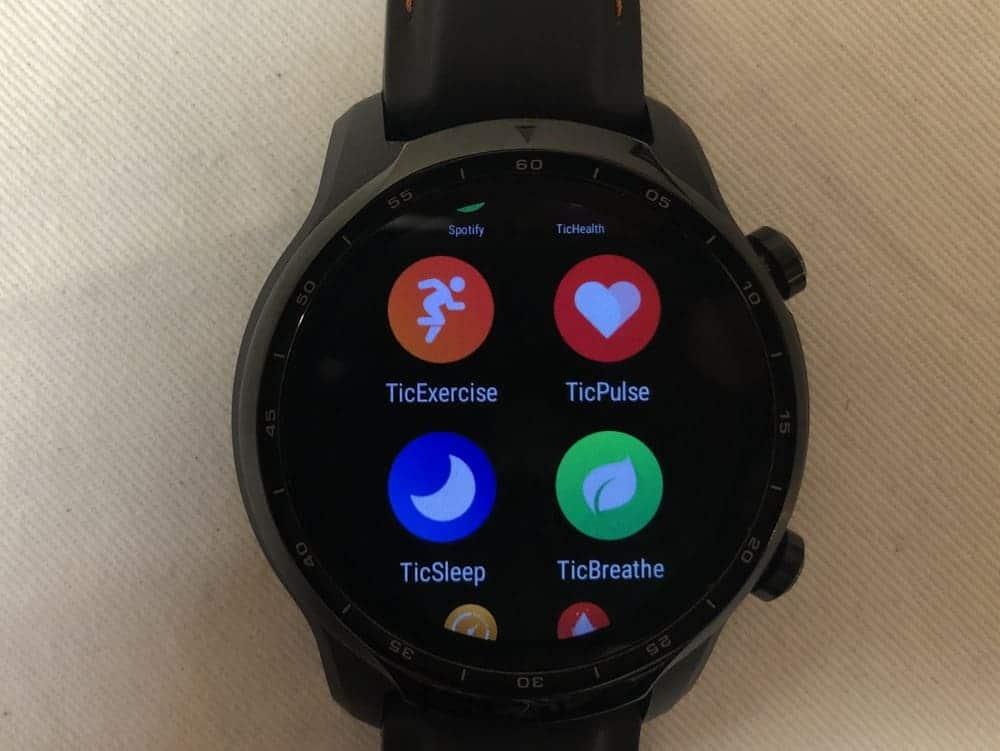 ticwatch pro 3 apps