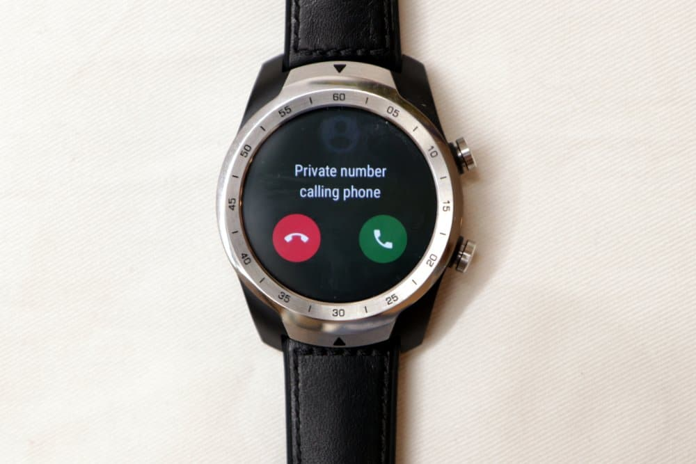 Ticwatch Pro calls