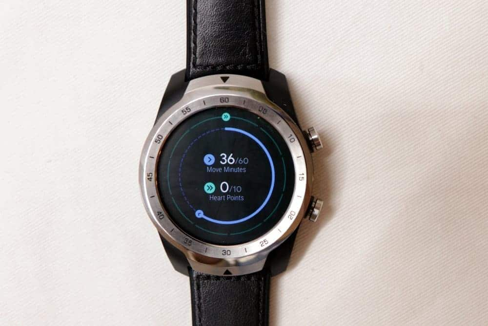 Ticwatch Pro with Google Fit