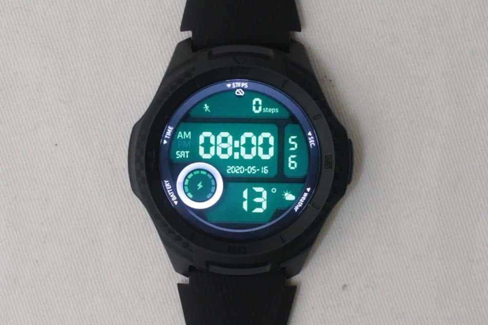 ticwatch e2 watch face