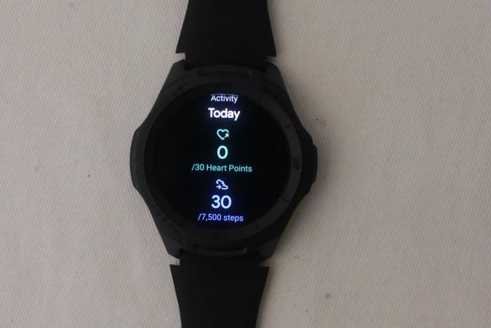 ticwatch e2 google fit
