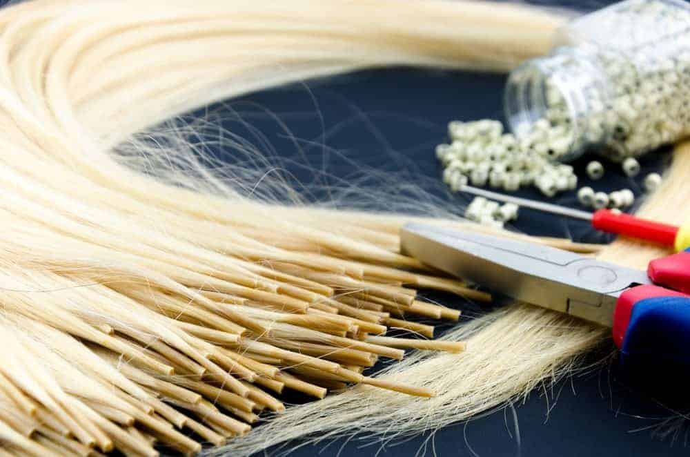 Hair extension tools