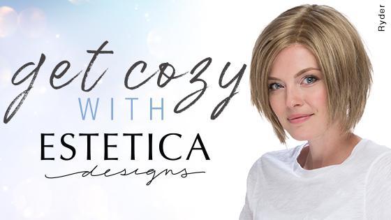 Estetica wig collection banner