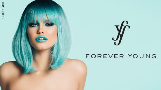 Forever Young wig collection banner