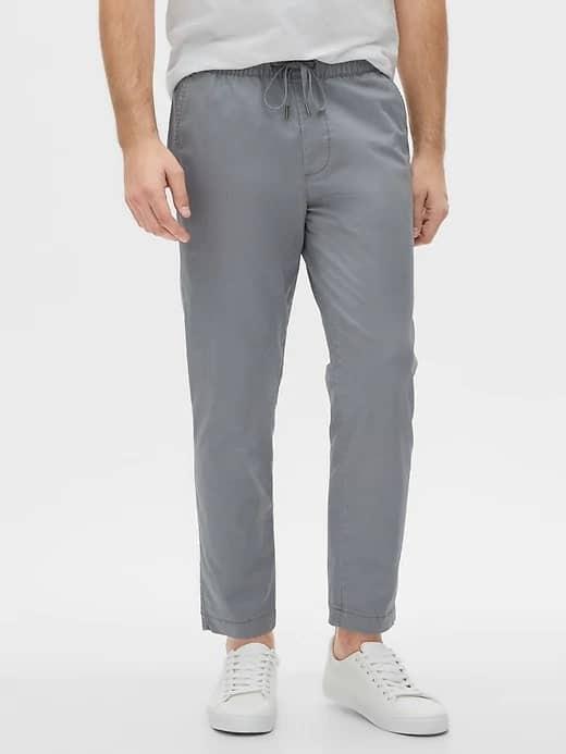 Easy twill capri pants from Gap.