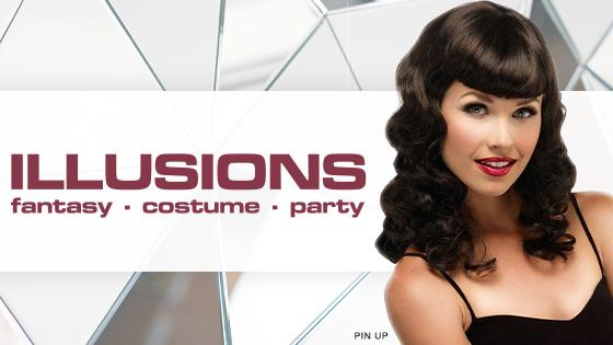 Illusions wig collection banner