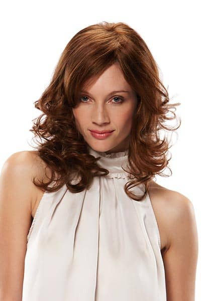 Remy Human Hair Wig with Monofilament Cap