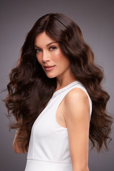 Remy Human Hair with Monofilament Cap