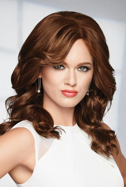 Knockout by Raquel Welch: Monofilament, Human Hair Wig