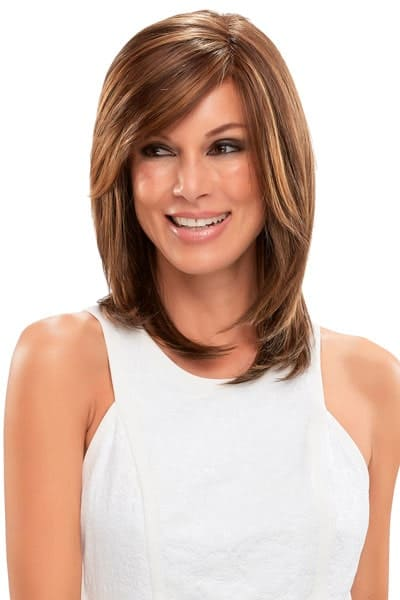 100% Hand-Tied Wig with Synthetic Hair