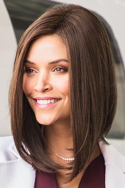 Lace Front Wig with Synthetic Hair