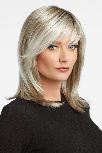 Lace Front Monofilament Wig with Synthetic Hair
