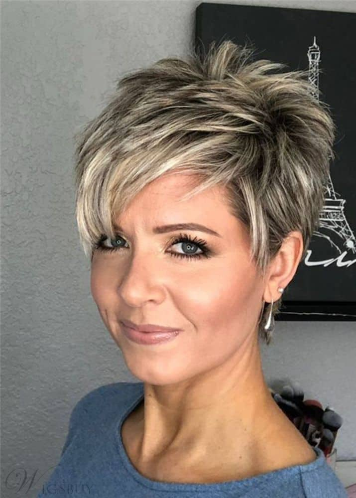 Short Pixie Cut from WigsBuy.