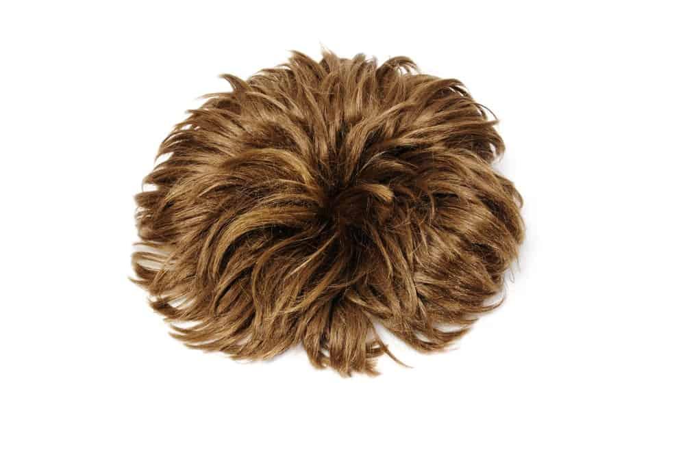 A brown short wig