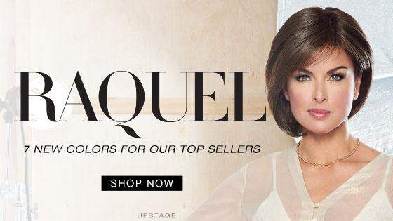 Racquel Welch wig collection banner