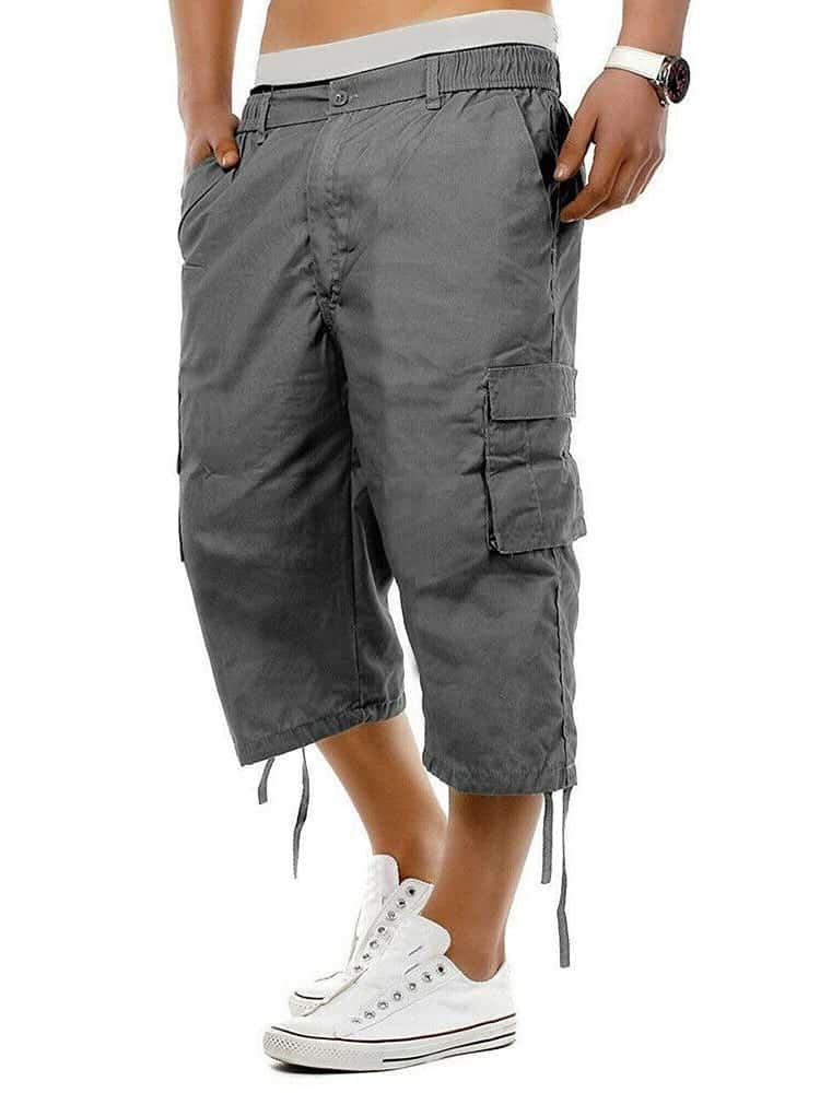 A pair of capri pants from Walmart.