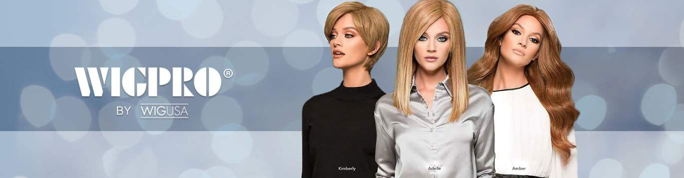 Wig Pro Wigs wig collection banner
