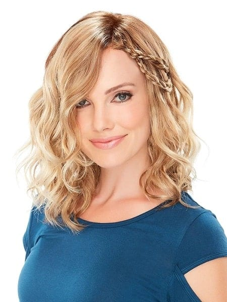 Mila Petite Synthetic Lace Front Wig from LA Wig Company.