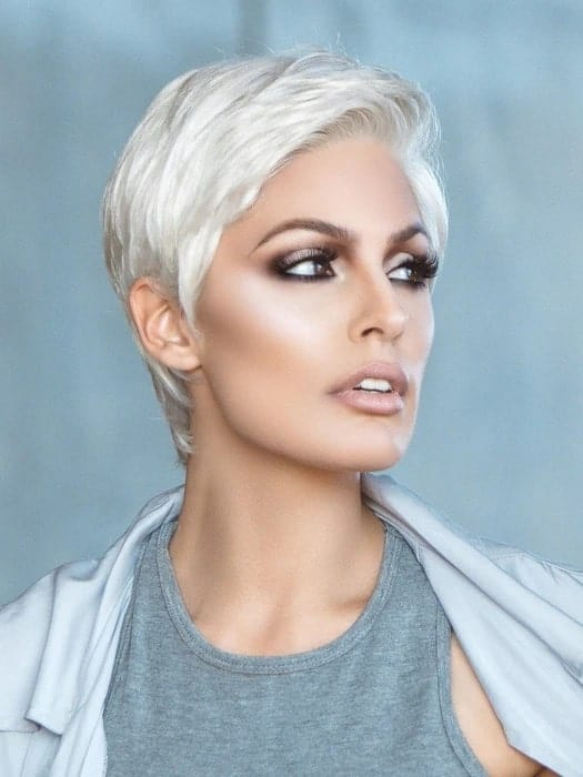 Risk Comfort Short Synthetic Lace Front Wig by Ellen Wille