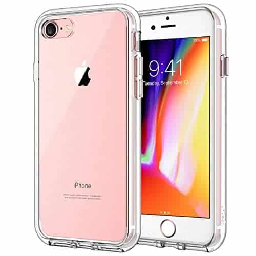 JETech Clear Case for Apple iPhone 8 and iPhone 7